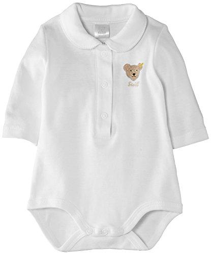 Steiff Unisex - Baby Body 0008693, Gr. 92, Weiß (bright white 1000)