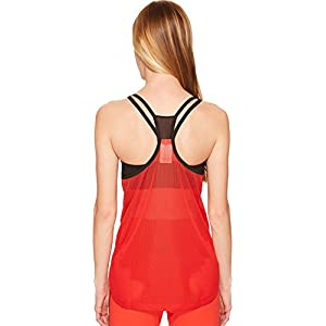 Reebok Womens Bodypump Tank Top Red MD One Size