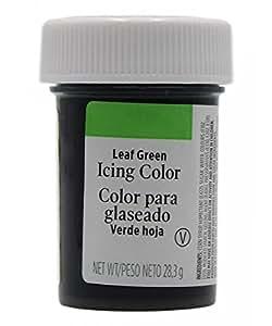 Colorante en gel verde hoja