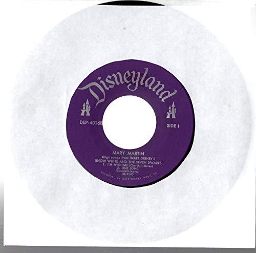 Mary Martin: Sings Songs From Walt Disney's Snow White & The Seven Dwarfs 7