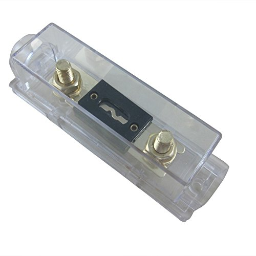 300a Car Audio (DIGITEN Car Auto Stereo Audio Inline ANL Holder 0 2 4 Gauge+300A Amp Gold Plated Fuse)