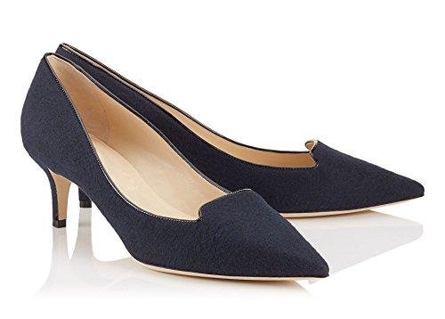 Pointues Quotidiennement Des Escarpins Taille Chaussures Enfiler A Femmes Grande Ubeauty Toe Bleu Stilettos Yx0Fqt6wF8