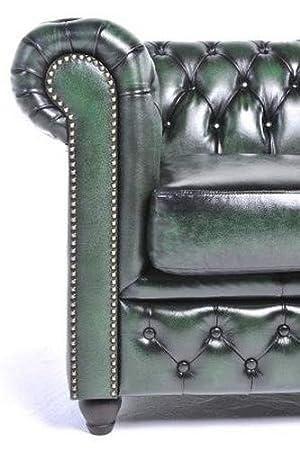 Amazon.com: Chesterfield Original Sofá – 2 plazas – FULL ...