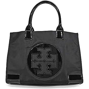 464f01940506 Amazon.com  Tory Burch Womens Black Nylon Ella Tote Bag 45207-001 ...
