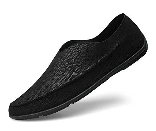 TDA , Sandales Compensées homme - noir - noir, 45 EU