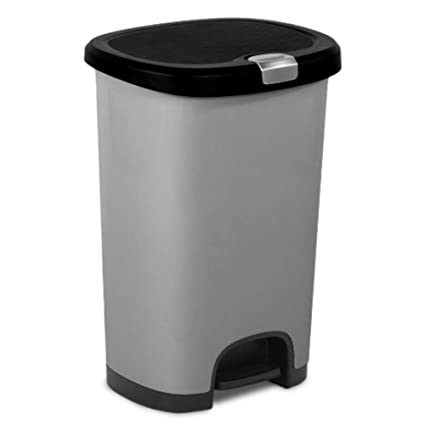 Wastebasket Cabinet - Pull-out Storage for Trash & Recycling