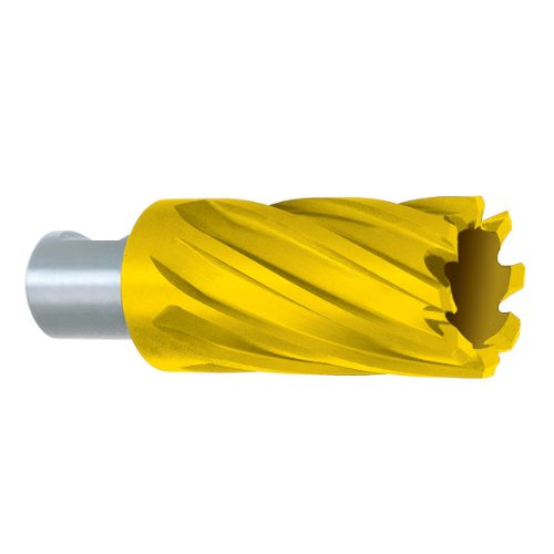 POWERBOR Annular Cutters - Tool Material: HSS TiN Size : 4'' 2'' depth of cut [pack of 1]