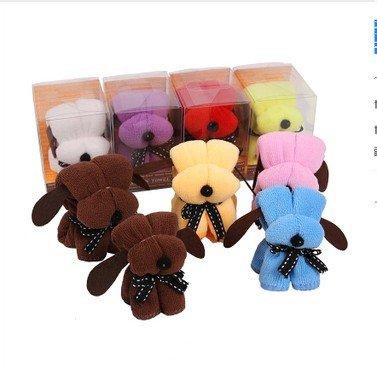 Suministros 6 toalla Snoop Dogg pastel caja de la boda toalla perro pequeno: Amazon.es: Hogar