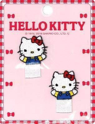 キャラクター 名札付け ワッペン (アップリケ) キティ (ハローキティ キティちゃん サンリオ)