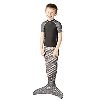 Fin Fun Mermaid Tails for Swimming with Monofin Kids /& Adults Boys Girls