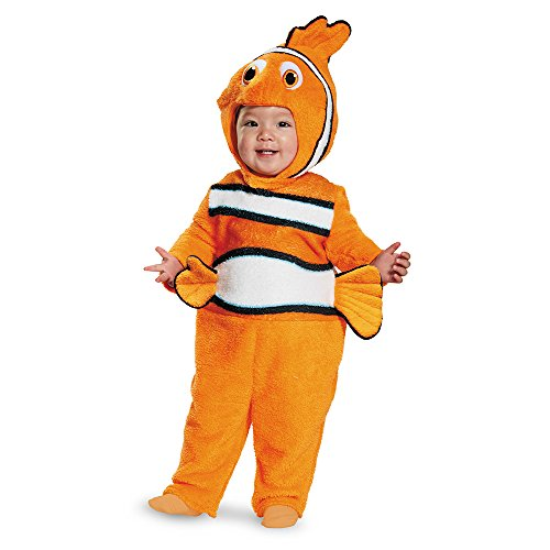 Disney Disguise Baby's Nemo Prestige Infant Costume, Orange, 6-12 -