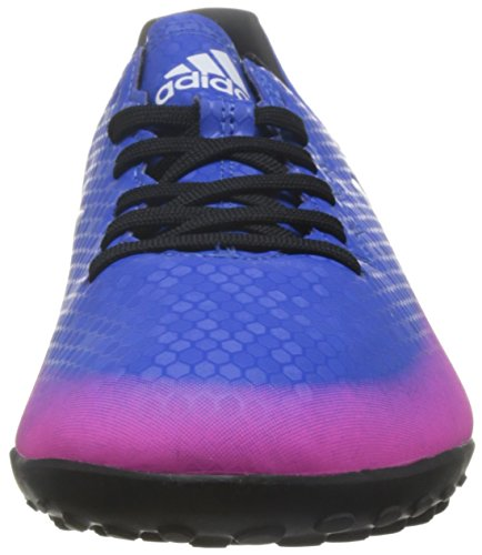 adidas Messi 16.4 TF, Botas De Fútbol, Hombre Azul (Blue/Ftwr White/Solar Orange)