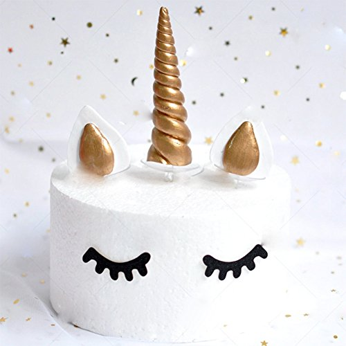 e Topper Soft Ceramics Themed Party Decoration for Baby Shower,Wedding and Birthday Party (Cake Decorating Kit Birthday Topper)