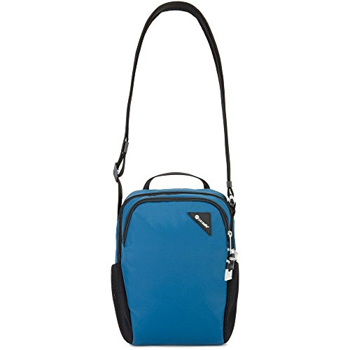PacSafe Vibe 200 Anti-Theft Compact Crossbody Travel Cross-Body Bag, Eclipse, One Size by Pacsafe (Image #3)