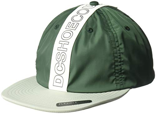 DC Men's BAFFLES Trucker HAT, Hunter Green, 1SZ from DC