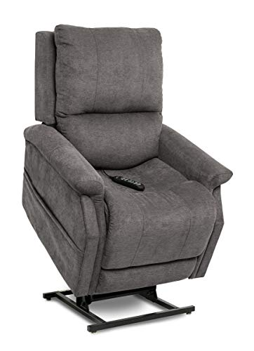 Pride ViVaLift Metro Lift Chair Power Recliner (PLR-925M) with Inside Delivery and Setup Option (Saville Grey, Inside Delivery and Setup)