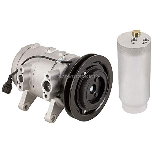 AC Compressor w/A/C Drier For Nissan Frontier & Xterra - BuyAutoParts 60-86278R2 NEW ()