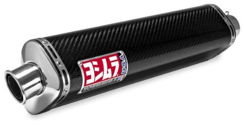 Yoshimura TRS Dual Bolt-Ons - Carbon Fiber Mufflers , Material: Carbon Fiber 1120462