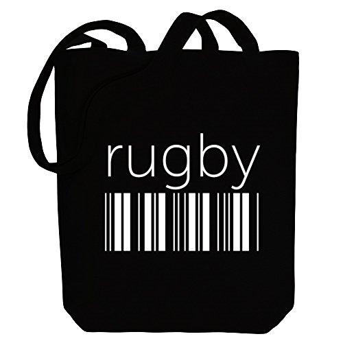 Idakoos Rugby barcode - Sport - Bereich für Taschen