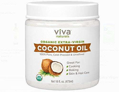Price comparison product image Viva Naturals Organic Extra Virgin Coconut Oil (16 OZ 2 PK Best Value)