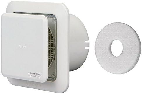 新協和 プッシュ式レジスター PM2.5対応フィルター付 SRP-100+FR-PE100 シルバーホワイト