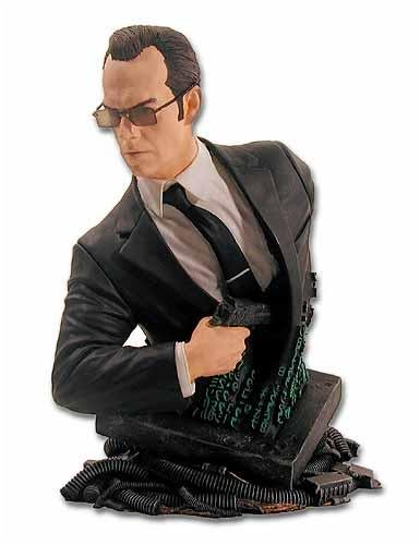 Agent Smith Mini Bust ( The Matrix ) Gentle Giant