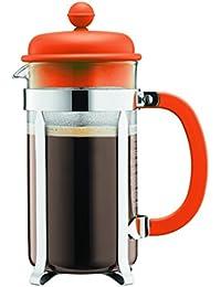 Bodum Caffettiera Coffee Maker, 0.35 L - Orange Basic Facts