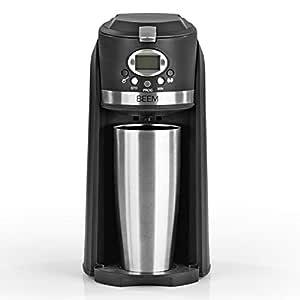 Beem Grind & Brew 2 Go - Cafetera de filtro individual con ...