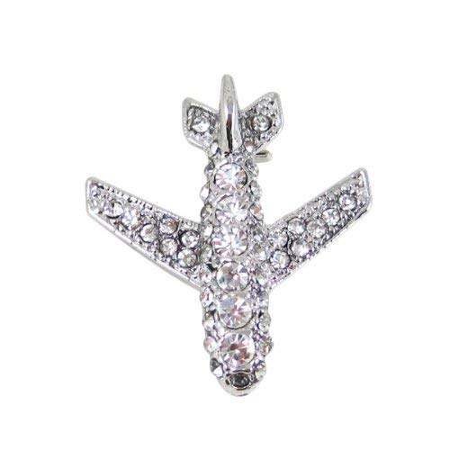 - Flight Attendant Uniform Novelty Airplane Rhinestone Fashion Brooches Pin, Perfect Jewelry Gifts for Men Women in Aviation and Travel Industry