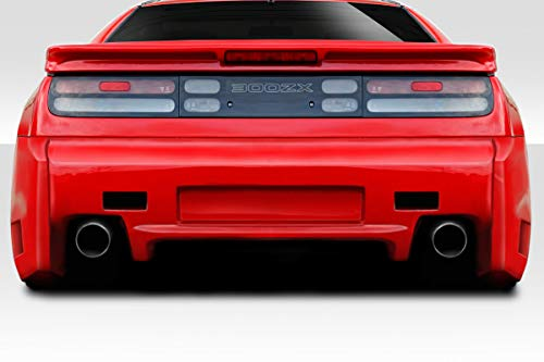 Duraflex Replacement for 1990-1996 Nissan 300ZX Z32 2+2 Vapor Rear Bumper Cover - 1 Piece