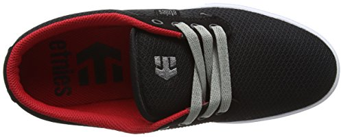 Etnies Jameson 2 Eco skateboard scarpe, navy/grigio, nero (Black (Black/White/Red)), 43