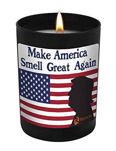 Make America Smell Great Again - 11 oz Natural Soy Hand Poured Candle Made in The USA