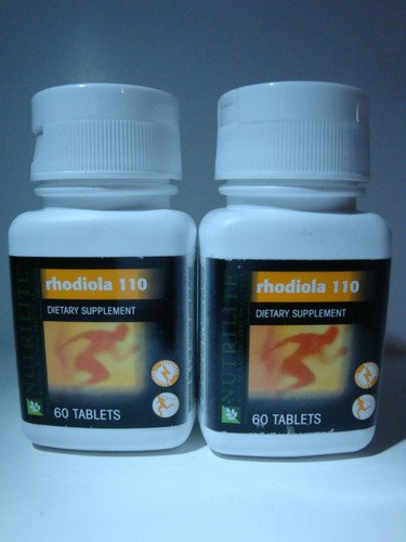 2 Pack Nutrilite® Rhodiola 110 Supplement Helps Increase Mental and Physical Performance - 60 Count by N/A