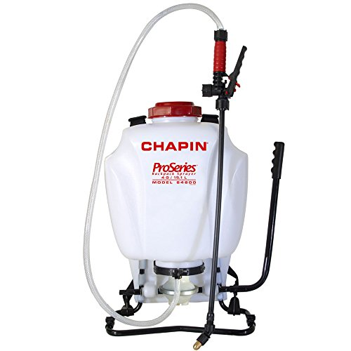 Diaphragm Sprayer - Chapin 64800 4-Gallon ProSeries Liquid and Wettable Powder Diaphragm Pump Backpack Sprayer For Fertilizer, Herbicides and Pesticides, 4-Gallon (1 Sprayer/Package)