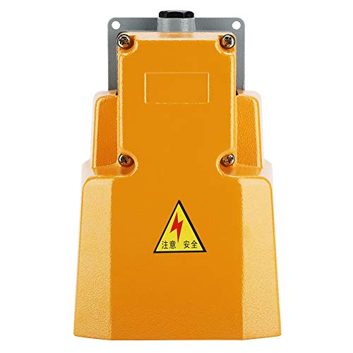 250V 10A Pedal Foot Switch,Acogedor Aluminum Alloy Oil Resistant Corrosion-Resistant Heavy Duty Foot Switch with Guard by Acogedor (Image #8)