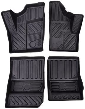 Polaris RZR XP4 1000 900 2014-2018 Tusk UTV Front and Rear Floor Mats Includes Oil Filter