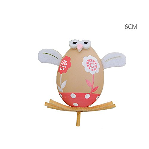 CXZC Easter Day Eggs Picks on Sticks Party Decor - Ideal Halloween for Kids -