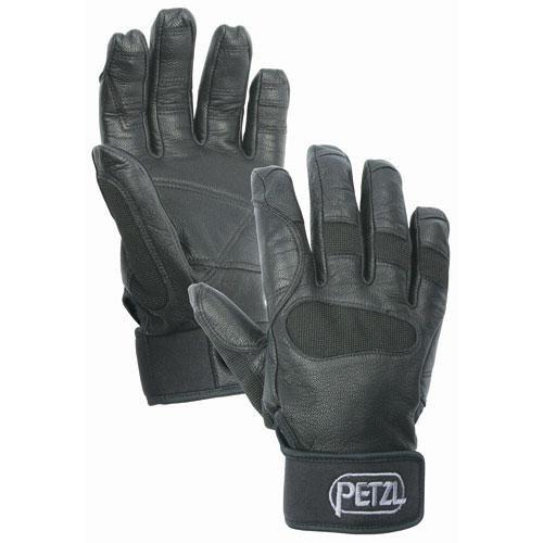 Rappelling Glove, M, Black, PR by Petzl