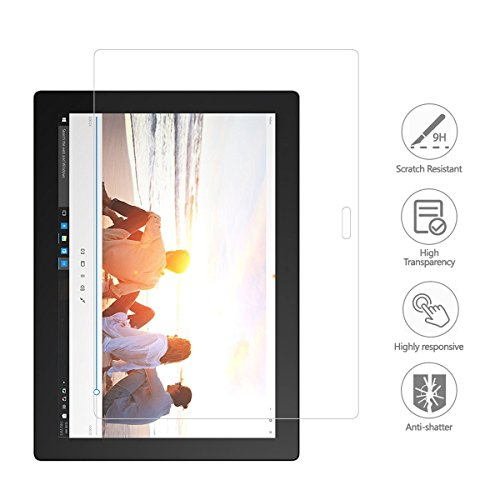Lenovo MIIX 700 Screen Protector Glass - Premium 9H Hardness Tempered Glass Screen Protector for Lenovo Ideapad Miix700 12 inch Tablet/Laptop by SEENIGHT (Image #4)