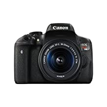 Canon EOS Rebel T6i 24.2 Megapixel Digital SLR Camera with 18 - 55 mm Lens