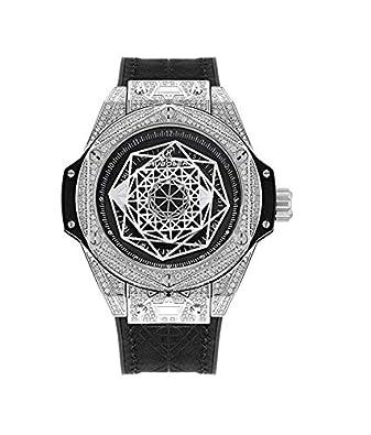 fc09d00506247 ICE BOX Star Tetrahedron Watch AP Watch Bust Down CZ Diamonds Supreme  Necklace Rapper Bling Rollex Skeleton Hip Hop WatchGold Chakra Silver  Merkaba Jewelry ...