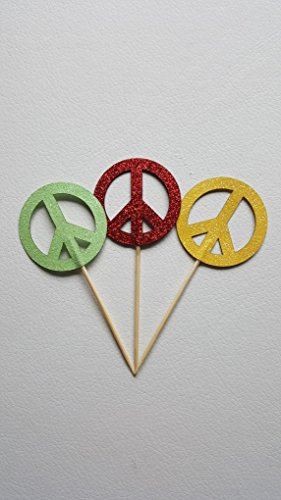 12-peace-sign-cupcake-toppers