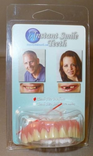 instant smile teeth instructions