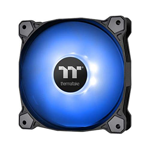 Thermaltake Pure A12 120mm Blue LED PWM Controlled Hydraulic Bearing High Airflow High Performance Case/Radiator Fan CL-F109-PL12BU-B