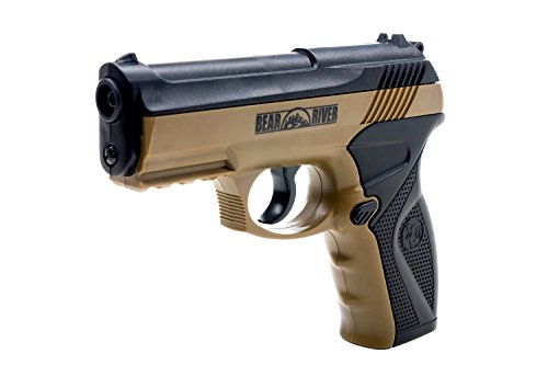 BB Gun Bear River Boa Dark Earth Tan CO2 Pistol Semi Auto Airgun Shoot .177 Cal 4.5mm Ammo