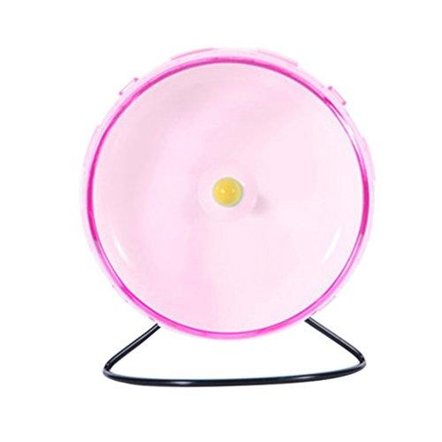 Inertia Runner - Yinrunx Pet Hamster Wheel Silent Spinner,Hamster Wheel Small Pet Toy,Exercise Wheel For Hamster,Wheel Toy With Holder,Exercise Wheel For Hedgehog