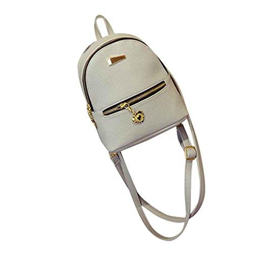 Bag da School da viaggio Clode® Borsa grigia Female viaggio Borsa zaino Mini TwOAqgt