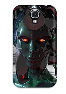 Christopher B. Kennedy's Shop Best 4095294K50856297 Rugged Skin Case Cover For Galaxy S4- Eco-friendly Packaging(cyborg)