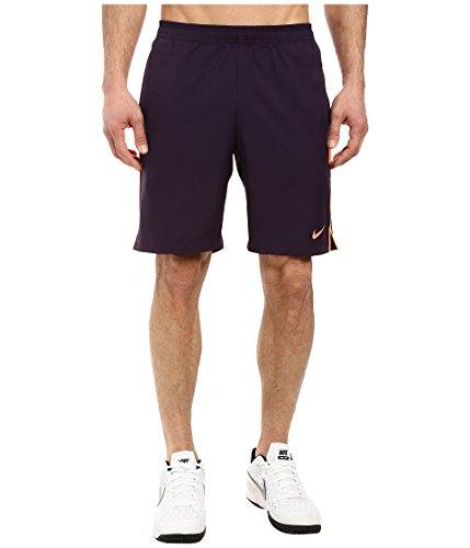 NIKE Mens Court Dri-Fit 9 Tennis Shorts Purple Dynasty/Bright Mango/Bright Mango c0Pi5695q