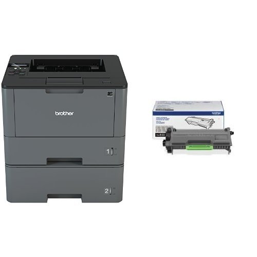Brother HLL5200DWT Business Laser Printer with Wireless Networking, Duplex